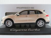 Minichamps/Porsche WAP0200050E Porsche Cayenne Turbo in palladium 1:43 NEU/OVP
