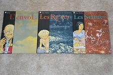 lot 3 BD Les Chroniques de Panchrysia tomes 1 2 et 3 - toutes en EO