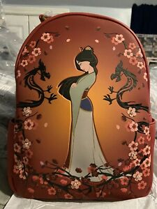 Loungefly Mulan mini backpack. Brand New Never Used.