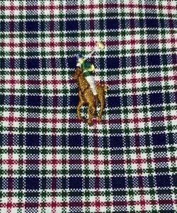Polo Ralph Lauren Men's Multicolored Check B/F L/S Shirt Sz 2XLT Tall