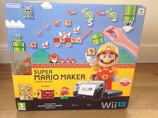 Nintendo Wii U console LIMITED EDITION Super Mario Maker premium pack 32gb