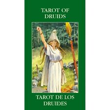 Druids Mini Tarot Deck - Fantasy Celtic Style - 78 Cards & Instruction Booklet