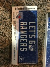 2017-18 NEW YORK RANGERS SEASON TICKET BOOK SET STUBS 44 GAMES HENRIK LUNDQVIST