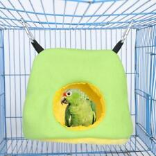 Warm Soft Plush Birds Bed House Hut Hanging Cage Cage Hamster Parrot Hammock Aut