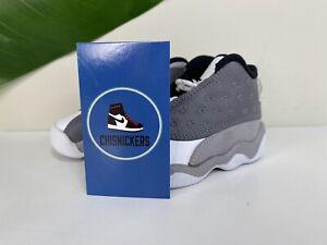 Nike Air Jordan 13 Retro TD Atmosphere Grey White 414581 016 Toddler Sz 5c
