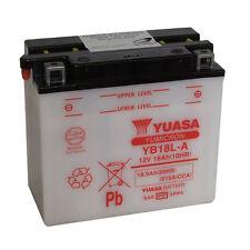 Batterie Moto YUASA YB18L-A 12v 18.9AH 215A  180X90X162MM ACIDE OFFERT