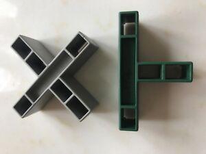 GAPFAST PAVING SPACERS for Patio Slabs & Flags - Sample Tee & Cross
