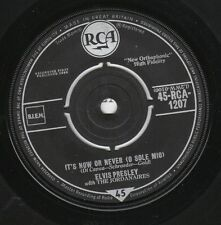 ELVIS PRESLEY 45 (RCA 1207 UK pressing) It's Now Or Never/Make Me Know It