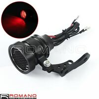 Motorcycle 12V LED Tail Light Taillight Projector For Chopper Bobber Cafe Racer
