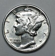 1936-P 10c Mercury Dime, BU . LOT# D10015