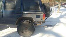 Jeep Cherokee Quarter Armor With Rub Rail