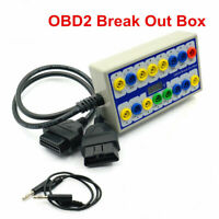 Auto car Breakout Box Car Protocol Detector car OBD2 interface with Pin Out Box
