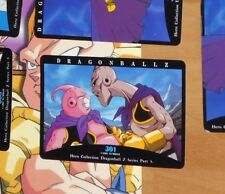 DRAGON BALL Z DBZ HERO COLLECTION PART 3 CARD CARTE 301 MADE IN JAPAN **