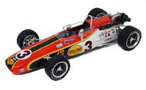 Replicarz R18029 Bobby Unser Rislone Eagle 1968 Indy 500 Winner Vintage Race Car