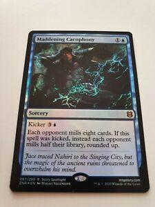 Foil Maddening Cacophony (Zendikar Rising MTG) Top Mill!