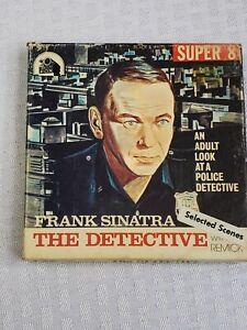 """1968- Frank SINATRA Super 8 """"THE DETECTIVE"""" With Original Box F22- Estate Find"""