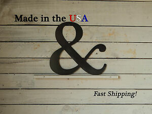 And Sign-& Sign-Wedding Decor-Ampersand Sign-Metal Wall Art-Symbols-F1001