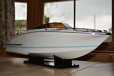 Riva Rama Aquarama 90cm Quality Handmade Wood Display RC Model Italian Speedboat