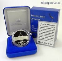 1998 $1 NEW PARLIAMENT HOUSE Silver Proof Coin