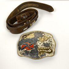 Montana Silversmith Bull Rider Award Buckle With Belt