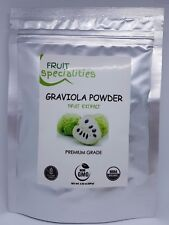 Soursop Fruit Powder 10:1 Extract 3.52 Oz(100g) Annona Muricata Graviola
