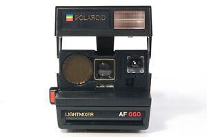 Polaroid Lightmixer AF 660 instant camera tested dlmtn 111199