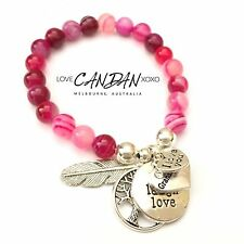 I Love You Granddaughter Friendship Bracelet Angel Feather Tree Of Life