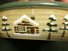 """Sonoma Home Goods Lodge large 12"""" pie plate serving Bowl or plate"""
