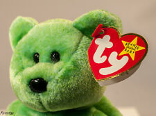 """TY Beanie Baby 1998 """"Kicks"""" Rare Retired  Bear Orig. Tag Errors. Collectable New"""