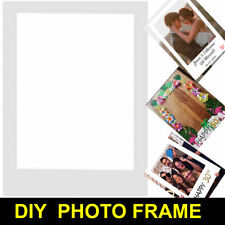 DIY Photo Booth Props Blank Picture Frame Background Birthday Wedding Hen Party