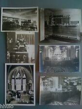 A908 LOT Photographie Originale Bar comptoir Bistrot Usine Cubain St Ouen VTG