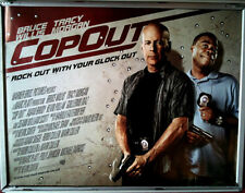 Cinema Poster: COP OUT 2010 (Quad) Bruce Willis Tracy Morgan Kevin Smith