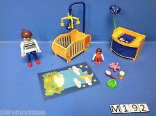 (M192) playmobil chambre bébé maison moderne 3207 3965