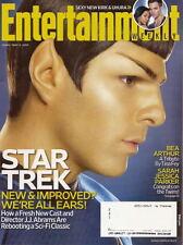 Star Trek Entertainment Weekly May 2009 Zachary Quinto Bea Arthur Gossip Girl