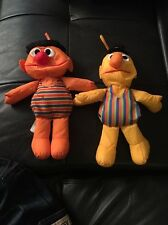 Vintage PLAYSKOOL Sesame Street WATER PALS (BATH TOY) ERNIE and BERT
