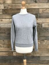 H&M Cotton Blend Patternless Long Sleeve Jumpers & Cardigans for Women