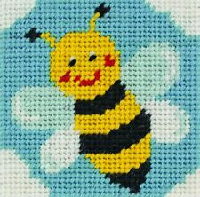 Anchor Crafts Bee Tapestry Kit 10 Count Colour Printed Canvas