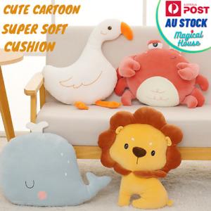 Plush Simulation Cartoon Doll Pillow Sleeping Cushion Baby Toy decor cushions