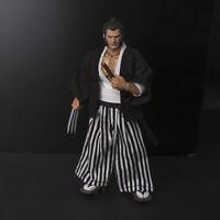 clothing scale is a 1//6 gray kimono and hakama for a samurai. haori #34