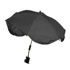 Buggy Stroller Parasol Sun Umbrella Baby GoGo Twisty Click BLACK