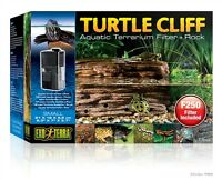 Exo-Terra Small Turtle Habitat Terrarium Tank Cliff Filter Rock & Pump