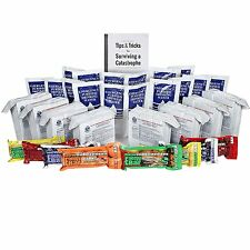 S.O.S. Emergency Food Ration - with 5 Year Shelf Life W/ Water & Millenium Bars