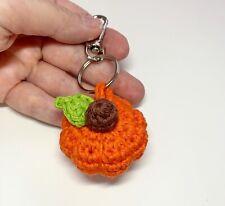 Handmade Crochet Pumpkins keyring