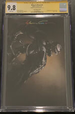 King in Black 1 CGC 9.8 SS Infinity Signature Clayton Crain Cover D LE 1k