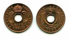 8 East Africa 1952 Coins,KM33 ,bronze,uncirculated wholesale lot