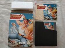 Jeu Nintendo NES Hammerin' Harry / Boite Notice PAL B FRA