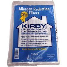 12 x KIRBY GENUINE MICRON MAGIC Generation 3 Series HEPA MATERIAL VACUUM BAGS