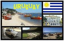 URUGUAY.- SOUVENIR NOVELTY FRIDGE MAGNET - BRAND NEW - GIFT / XMAS