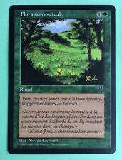MTG MAGIC Carte FLORAISON ESTIVALE SUMMER Bloom Ext. VISIONS 1996