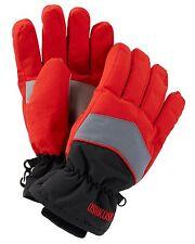 New OshKosh Ski Gloves Winter Glove size 4-7 year Kid Boy NWT Red Gray Black